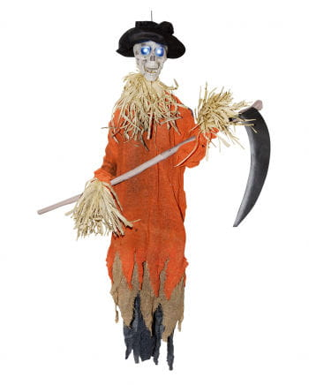 Scarecrows with a twisting head