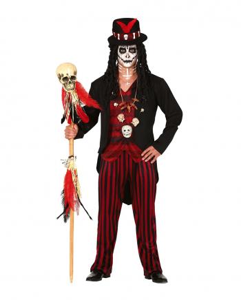 Voodoo Hexenmeister Herren Kostüm