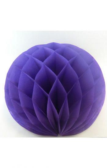 Wabenball violett 50 cm