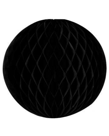 Wabenball schwarz 30 cm