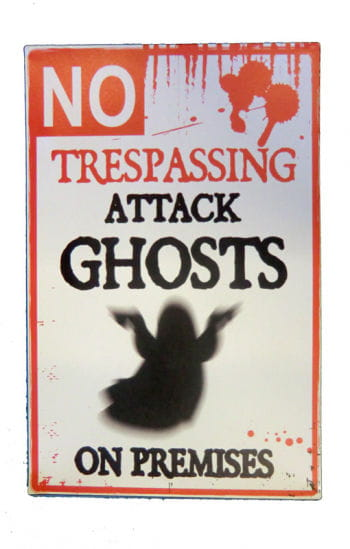 Warning Sign Attack Ghost