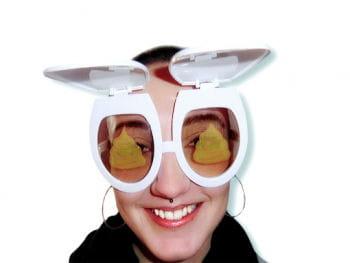 WC- Sitz Scherzbrille