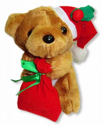 Christmas Bear Brown
