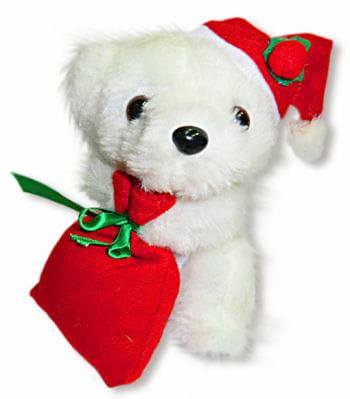 Weihnachtsbär Weiss