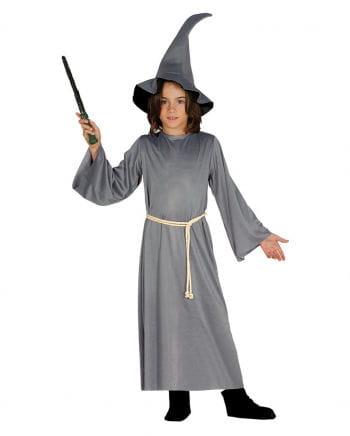 Fantasy Zauberer Kinderkostüm mit Hut