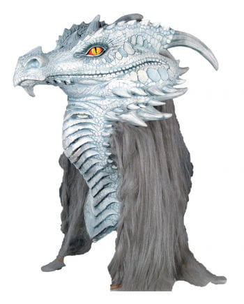 Ancient Dragon Mask White