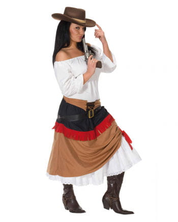 White Costume Blouse with 3/4 Sleeves