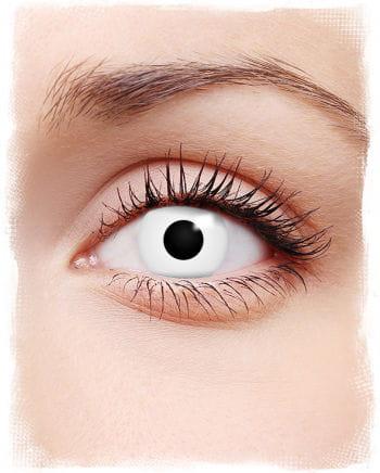 Weiße Zombie Kontaktlinsen