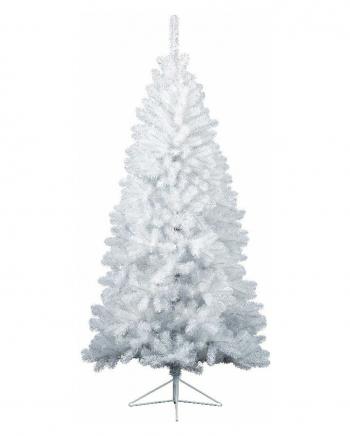 Weißer Tannenbaum mit Ständer 180 cm