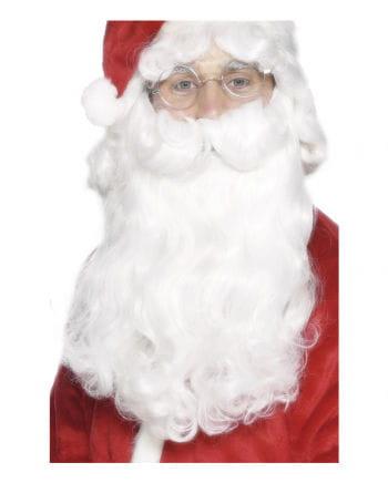 White Santa Claus Beard