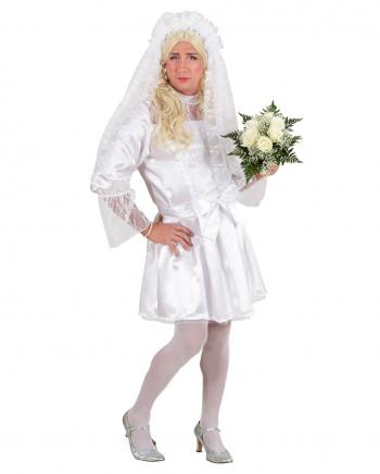 Weiße Braut Männerkostüm
