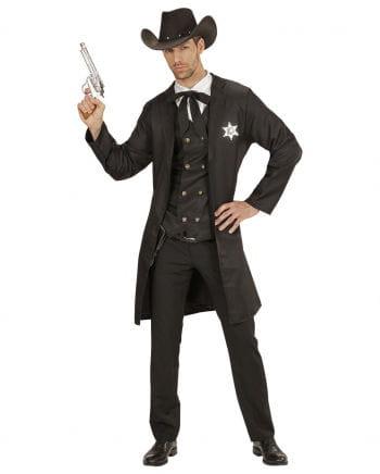 Western Sheriff Kostüm 4-teilig