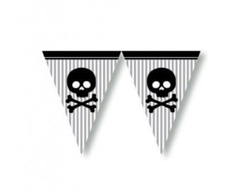 Wimpelkette pirate flag