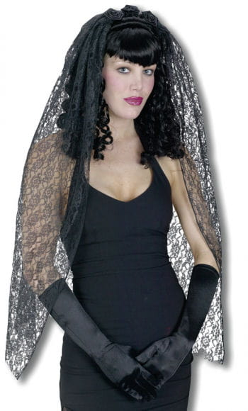 Gothic Wig with veil