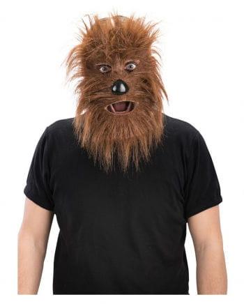 Werewolf Mask Economy Brown