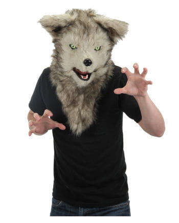 Wolfsmaske With Moving Mouth