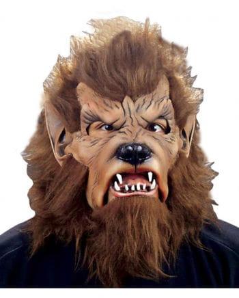 Wolfman Maske mit Kunstfell