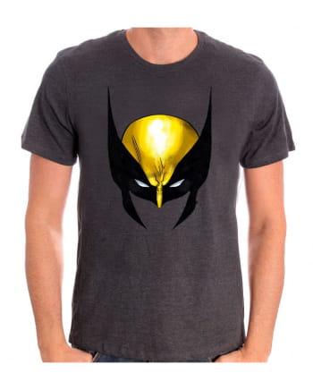 Wolverine Maske Motiv T-Shirt