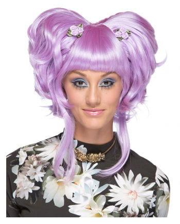 Damenperücke Yuki Lavender