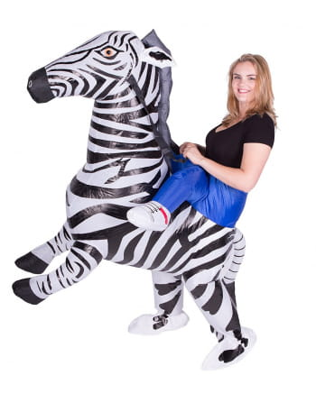 Zebra Inflation Costume