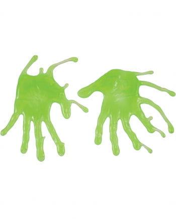 Zombie Schleim Fingerabdrücke