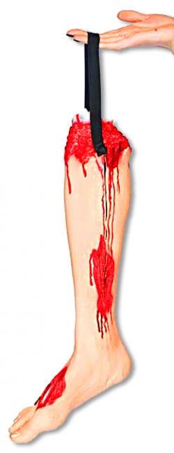 Zombie leg handbag