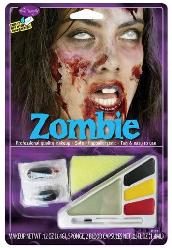 Zombie Girl makeup kit