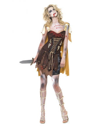 Zombie Gladiator Damen Kostüm