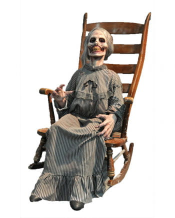 Zombie grandmother Decorative figure