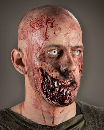 Zombie Jawbone Wunde