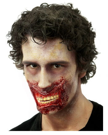 Zombie jaw wound