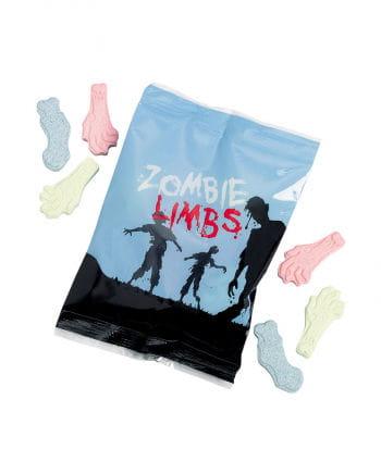 Zombie-Körperteile aus Traubenzucker