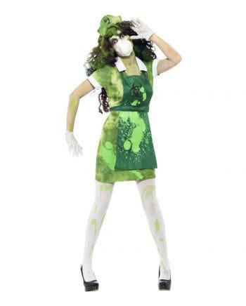 Zombie Laborschwester Kostüm