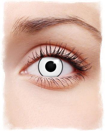 White Zombie Eye Contact Lenses