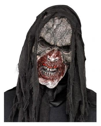 Burnt Zombie Half Mask