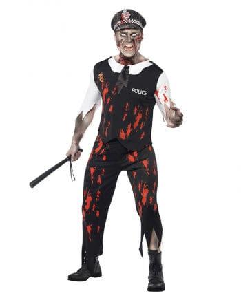 Zombie Policeman Kostüm