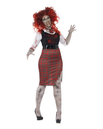 zombie schulm dchen kost m kurviges zombie schoolgirl horror. Black Bedroom Furniture Sets. Home Design Ideas