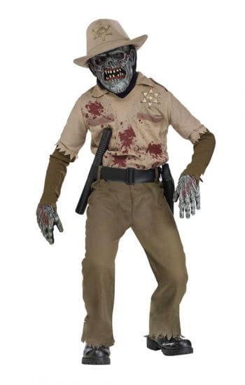 Zombie Sheriff Kinderkostüm Deluxe
