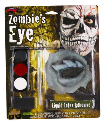 Zombie Skull Augen Make Up
