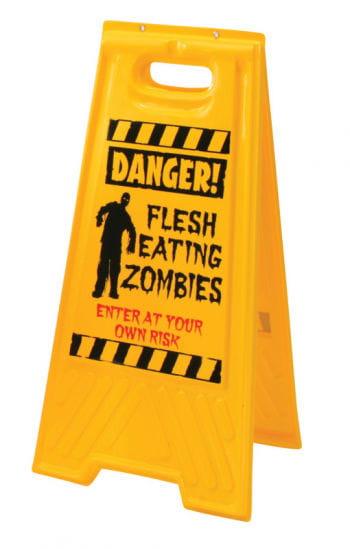 Zombie Warnschild