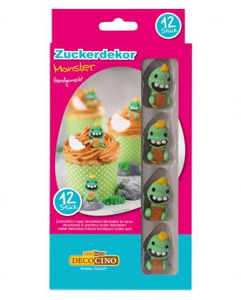 Zuckerdekor Monster 12 St.