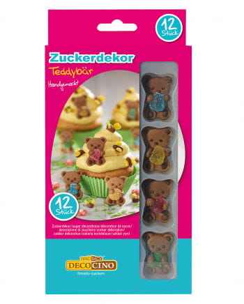 Sugar decoration Teddy Bear 12 St.
