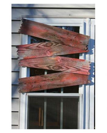 Blutige Fenster Bretter 4 St.