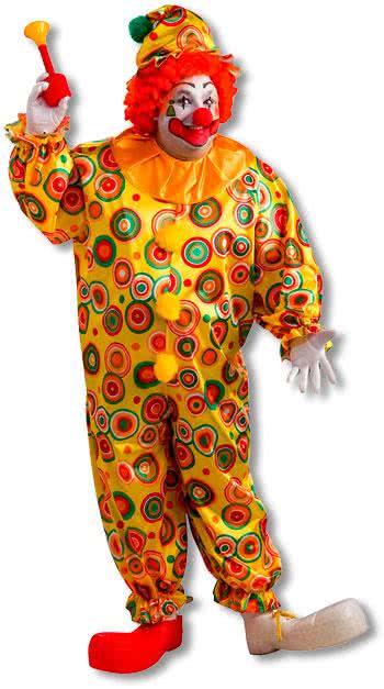 Jack der fröhliche Clown Kostüm XL