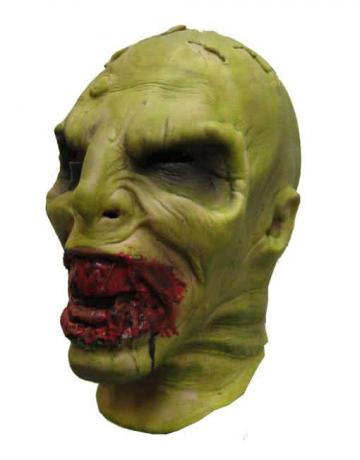 Schleim Zombie Foamlatex Maske