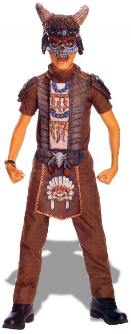 Apache Warrior Children Costume M