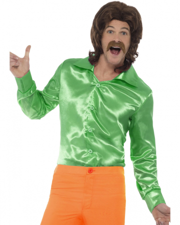 60s Disco shirt green