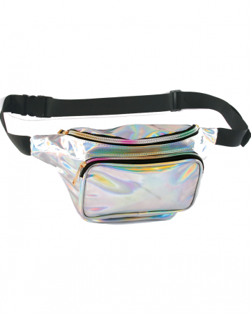 70's Hologram Belly Bag