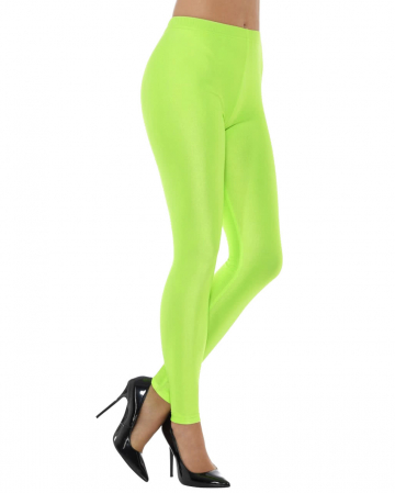 80s Stretch Leggings neon green
