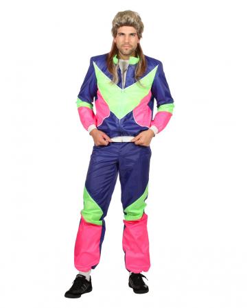 80s Tracksuit Men Costume